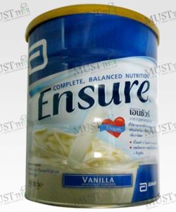 Complete Balanced Nutrition Vanilla Artificially Flavored - Ensure (850g)