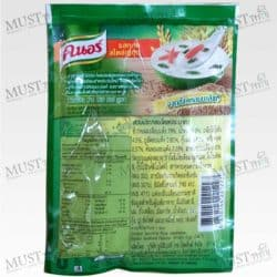 Jok Instant Porridge Japanese-Styled Seafood Flavour – Knorr (35 g)