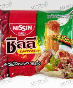 Nissin Chili Noodles Stir-Fried Holy Basil Flavour