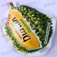 Thai Fruit Snack Dried Dehydrated Durian Monthong Premium. Dehydrated Durian