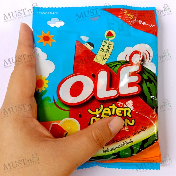 Ole Watermelon Lemonade candies.