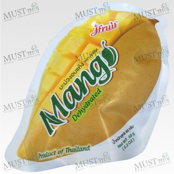 Dehydrated Mango- J Fruit (65g)