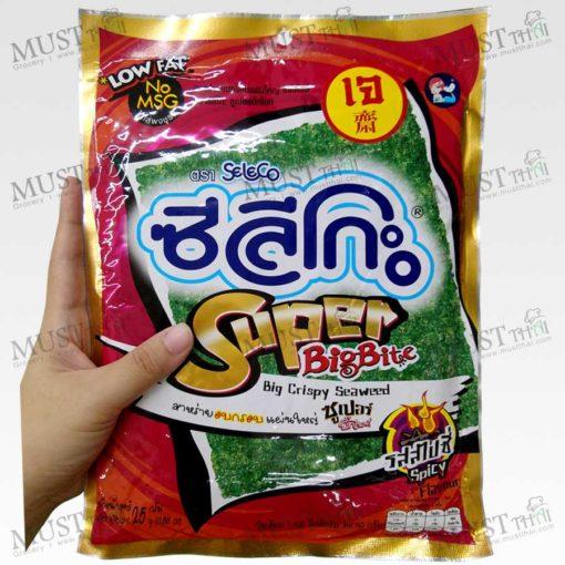 Seleco Super Big Bite Spicy Flavour Big Crispy Seaweed 25g