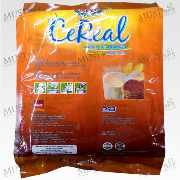 Super Original Flavour 4in1 Instant Cereal with Brown Rice
