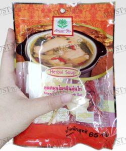 Tawan Mixed Chinese herb Set 65g Thai