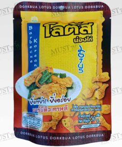 Dorkbua Biscuit Stick Fried Chicken Barbecue Korean Flavour 50g