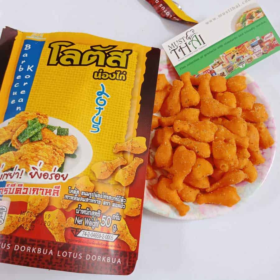 Dorkbua Biscuit Stick Chicken Barbecue   Thai Grocery Online