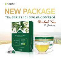 Narah Diabetic Organic Herbal Tea Sugar Control 10 Sachets
