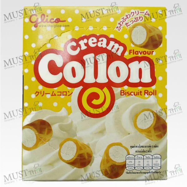 Glico Collon Biscuit Roll Cream Flavour - Glico Collon (54g)