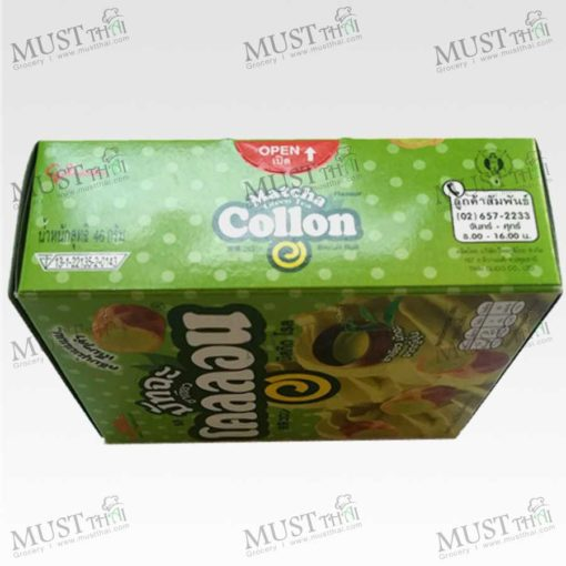Glico Collon Biscuit Roll Matcha Green Tea Flavour (54g)
