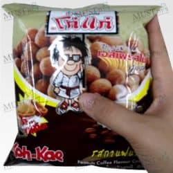 Coffee Flavour Coated Peanuts - Koh-Kae (85g)