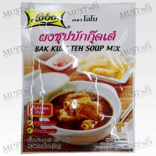 Lobo Bak Kuet The Soup Mix 25g