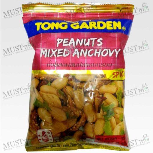 Peanuts Mixed Anchovy - Tong Garden (35g)