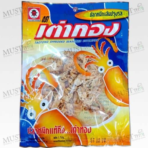 Taotong Shredded Seasoned Cuttlefish 22g
