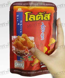 Biscuit Stick Fried Chicken Hot Spicy Flavour - Dorkbua (50g)