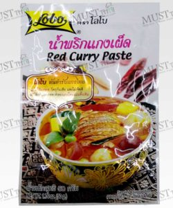 Lobo Red Curry Paste Thai 50g