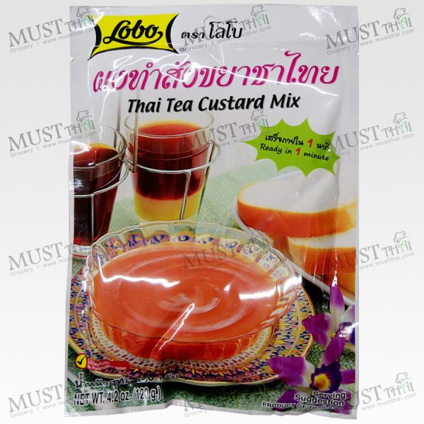 Lobo Thai Tea Custard Mix 120g.