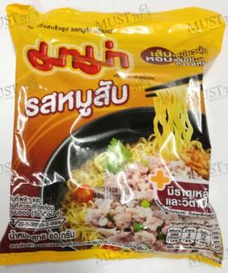 MaMa Instant Noodles Minced Pork (Moosab) Flavour (60g)