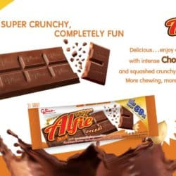 Glico Chocolate Flavour Confectionery Mix with Peanut - Alfie (31g)