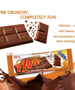 Chocolate Flavour Confectionery Mix with Peanut - Alfie (31g)