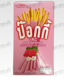 Biscuit Stick Coated With Strawberry Flavour Confectionery - Pocky (47g)