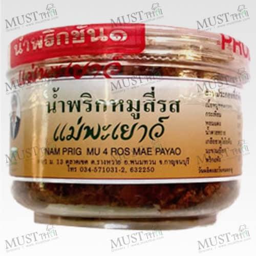 Mae Payao Nam Prig Mu 4 Ros 60g
