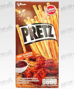 Pretz BBQ Chicken Flavour Biscuit Stick Glico brand