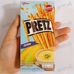 Pretz Corn Biscuit stick Glico brand