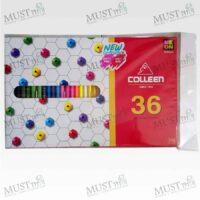 Colleen No775-36 Coloured Pencils 36 pcs