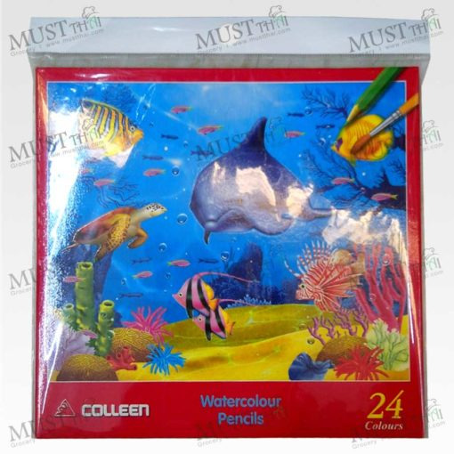 Watercolor Pencils 24 color - Colleen CAP 924
