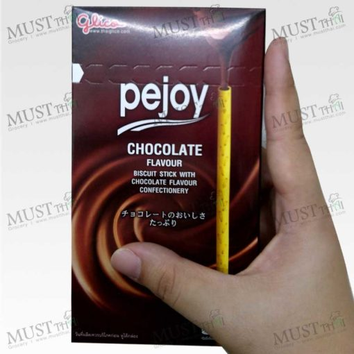 Glico Pejoy Biscuit Stick With Chocolate Flavour Confectionery 39g