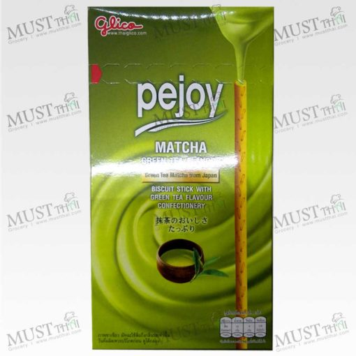 Glico Pejoy Biscuit Stick With Matcha Green Tea Flavour Confectionery 39g