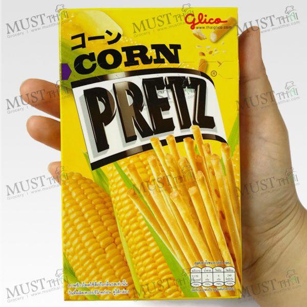 Glico Pretz Corn Flavor Bread Stick 36g