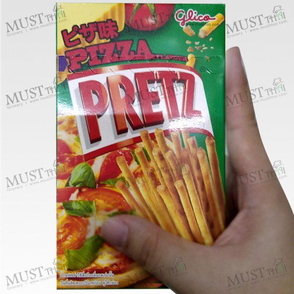 Glico Pretz Pitza Flavor Bread Stick 36g