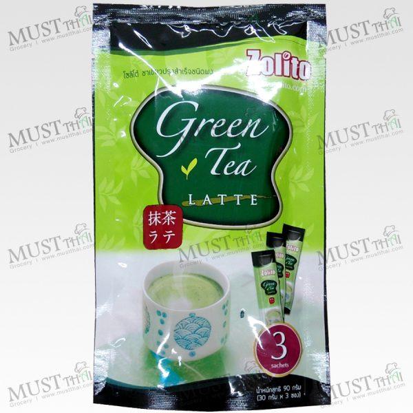 Green Tea Latte - Zolito 90g (30g x 3Sachets)