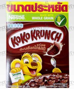 Koko Krunch Chocolate Flavoured Whole Grain Wheat Curls Breakfast Cereal 500g