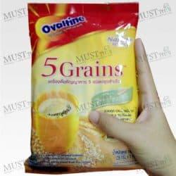 Natureselect 5 Grains Instant Malt Cereal Beverage - Ovaltine 140g (28g x 5pcs)