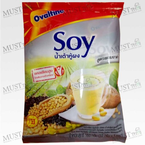 Ovaltine Natureselect Soy Sesame Formula Ready Mixed Soy Powder 160g (32g x 5pcs)