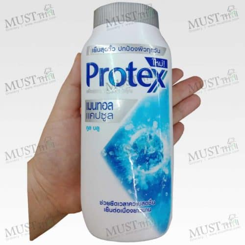 Protex Menthol Capsule Cool Blue Cooling Powder 140g