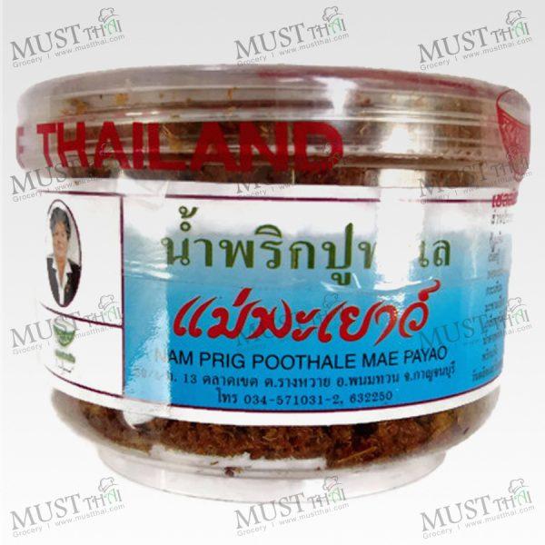 Mae Payao Nam Prig Poo Thale 60g