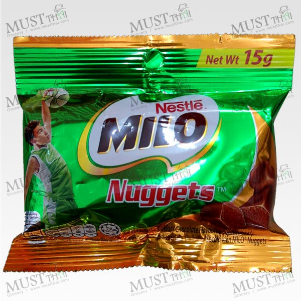 Nestle Milo Nuggets Chocolate Flavoured 15g
