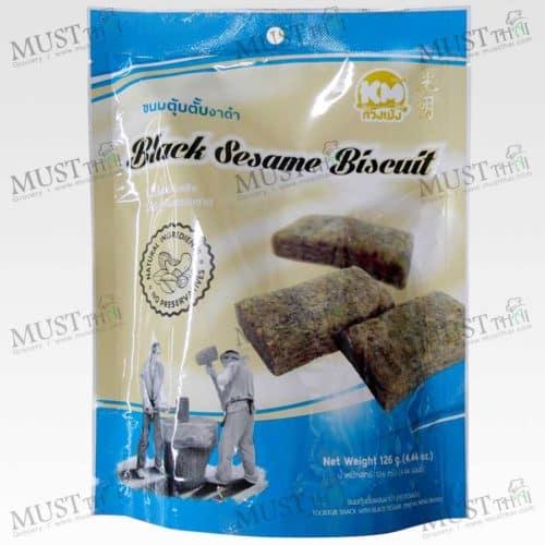 KMsnack Thai Classic Black Sesame Biscuit