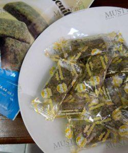 Thai Classic Desserts Black Sesame Biscuit 126g Thai