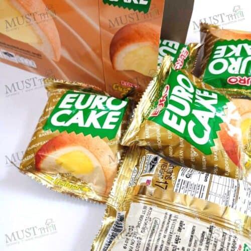 Euro Puff Cake and Sweet Custard Cream box of 12