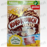 Nestle Koko Krunch Duo Cereal Chocolate and White Chocolate Flavor 170g.