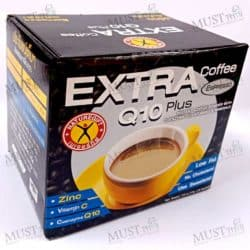 NatureGift Extra Coffee Q10 Plus box of 10 sachets