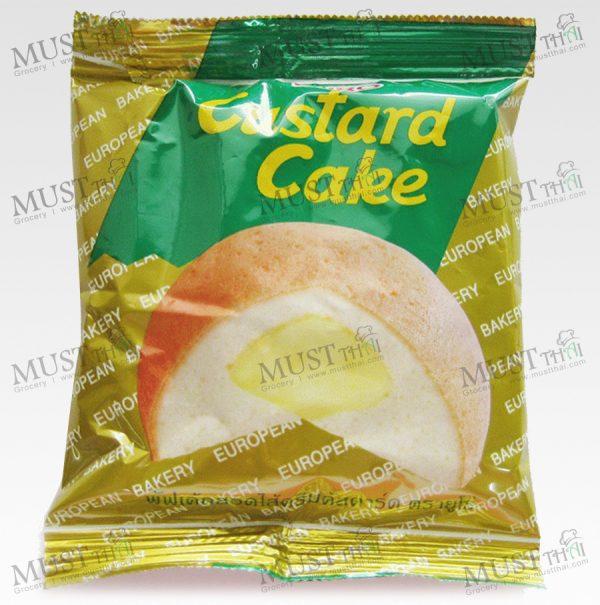 Euro Custard Cake Puff Cake and Sweet Custard Cream 17g