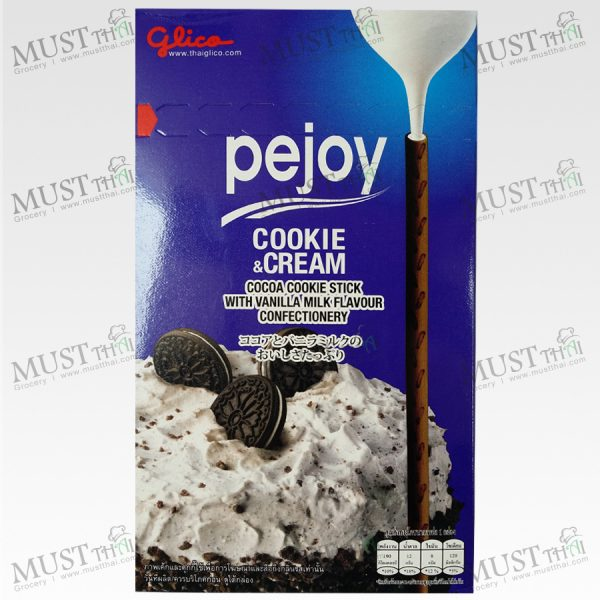 Cocoa Cookie Stick with Vanilla Milk Flavour Confectionery - Pejoy (39g)