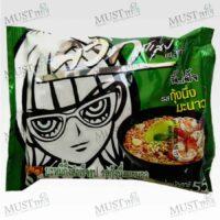 Wai Wai Quick Zabb Hot and Spicy Shrimp Flavour Instant Noodles 55g