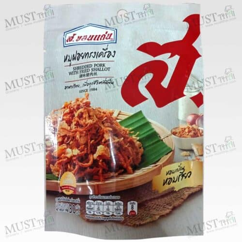 Crispy Flossy Pork with Fried Shallot – S.Khonkaen (30g)